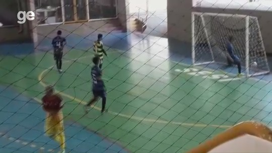 Confira os três finalistas que concorrem ao gol mais bonito da Copa Rede AM de Futsal 2019