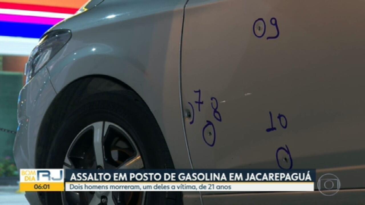 Dois homens morrem em assalto a posto de combustíveis em Jacarepaguá