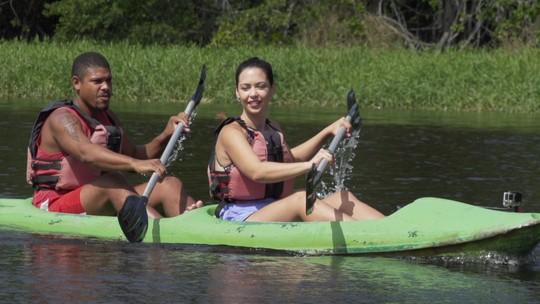 'Bate-Volta' faz trilha e passeio de caiaque na Reserva Sapiranga