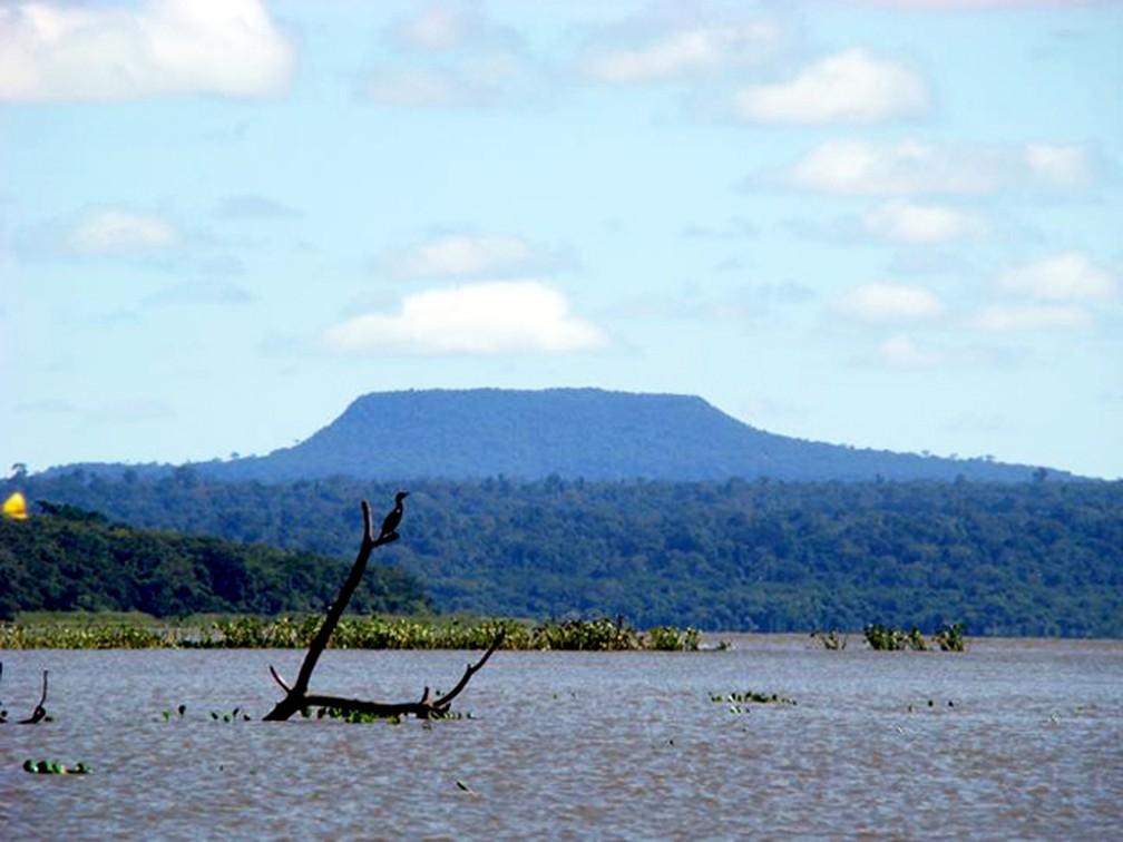Parque Estadual Morro do Diabo fica localizado em Teodoro Sampaio — Foto: Prefeitura de Teodoro Sampaio/Divulgação