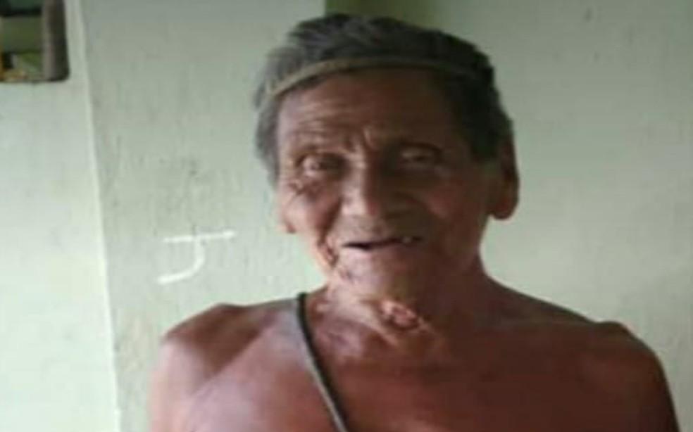 Indígena José Francisco dos Santos tinha 83 anos e morreu atropelado na BA-388, na cidade de Banzaê — Foto: Arquivo pessoal