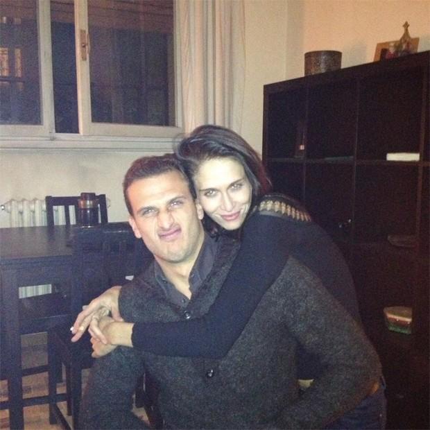 Barbara Romer e Samuel Riva em 2013 (Foto: Reprodução/Instagram)