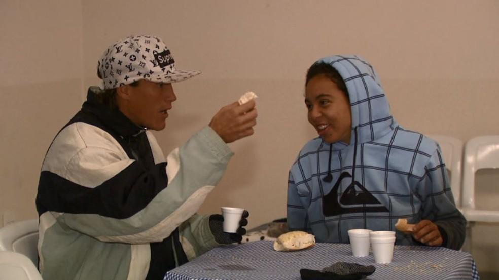 Igreja disponibiliza abrigo para até 70 moradores de rua em São Carlos — Foto: Reprodução/EPTV