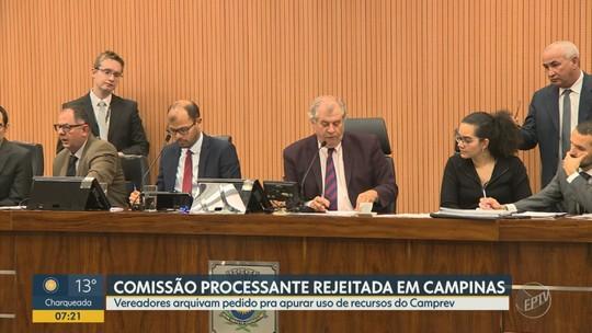 Câmara de Campinas rejeita pedido de CP contra Jonas por supostas 'pedaladas fiscais'