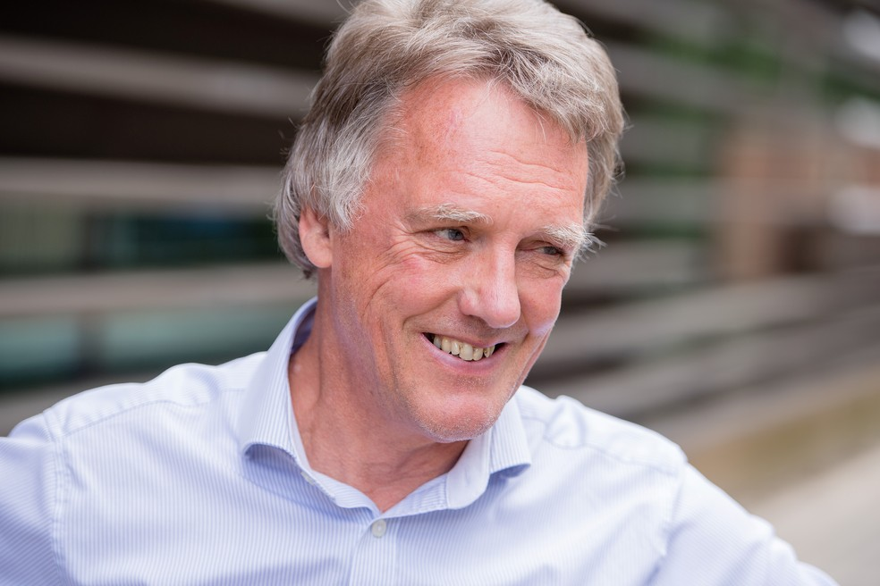 O cientista Peter Ratcliffe, um dos vencedores do prêmio nobel de Medicina deste ano. — Foto: Paul Wilkinson/Oxford University/Handout via Reuters