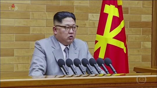 Na Coreia do Norte, Kim Jong-un inicia 2018 com ameaças aos EUA