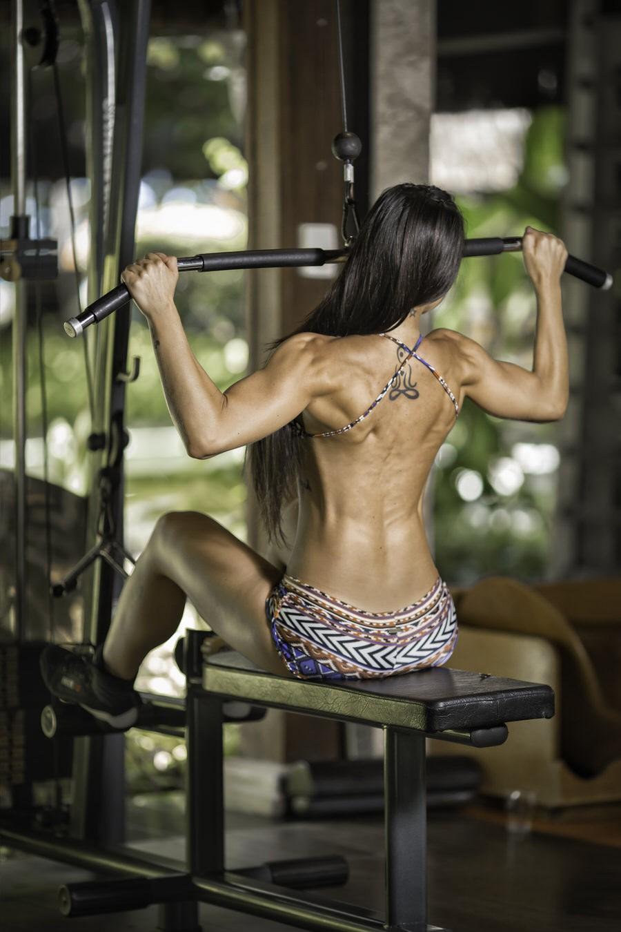"""""""Todo extremo é nocivo, seja de ambos os lados, tanto pendendo ao fitness como ao sedentário"""", diz Renata (Foto: Bennerlan Diesel/ Divulgação)"""