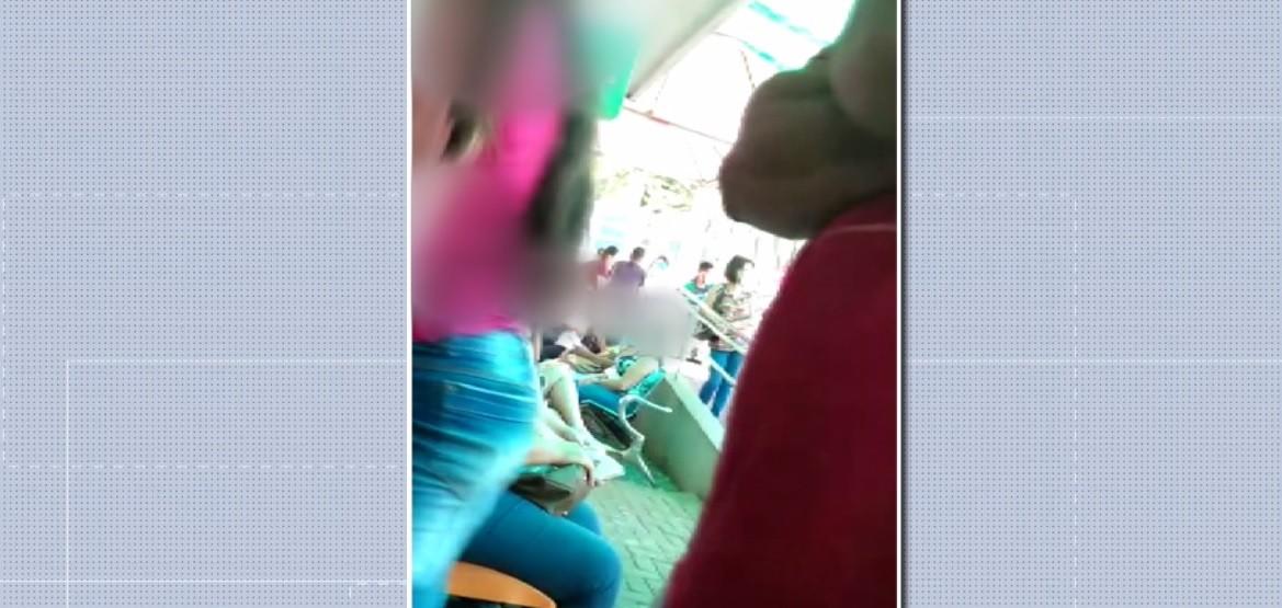 Vídeo mostra lotação em UPA exclusiva para atendimentos da Covid-19, em Maringá