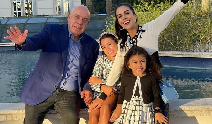 Daniela Albuquerque celebra 9 anos da filha mais velha na mansão da família
