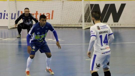 0e99f647bcf32 Marechal Rondon goleia Foz. Há 8 meses liga nacional de futsal