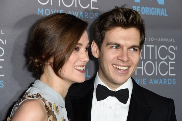 A atriz Keira Knightley com o marido, o músico James Righton (Foto: Getty Images)