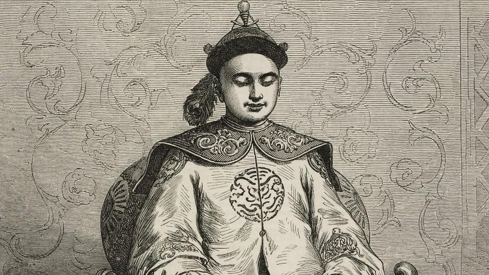 Tongzhi morreu apenas dois anos depois de atingir a maioridade e assumir o poder — Foto: Getty Images