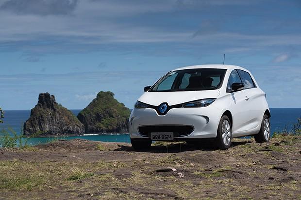 Renault Zoe é o primeiro carro elétrico da Renault a ter uso compartilhado (Foto: Divulgação)