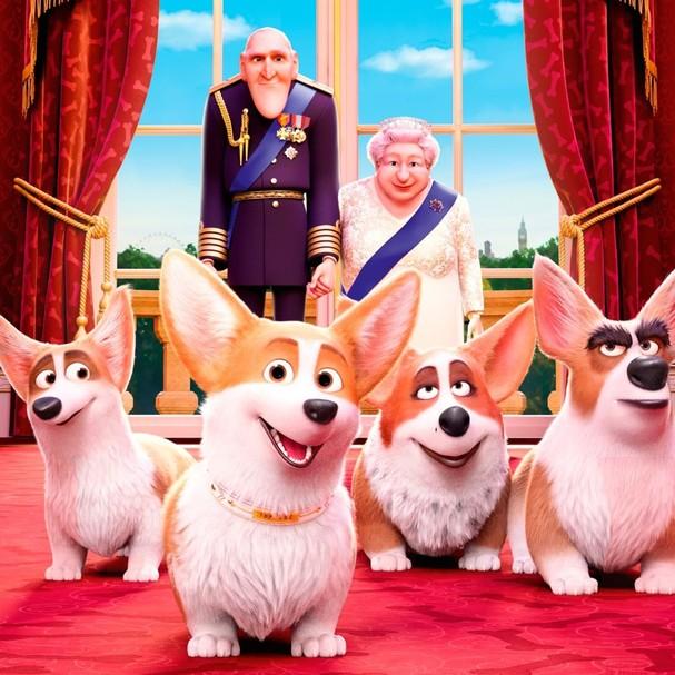 O Filme Animado Sobre Os Cachorros Da Rainha Elizabeth Será