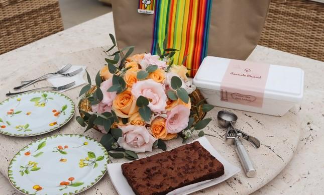 Kit de presente para o Dia das Mães do Sorvete Brasil