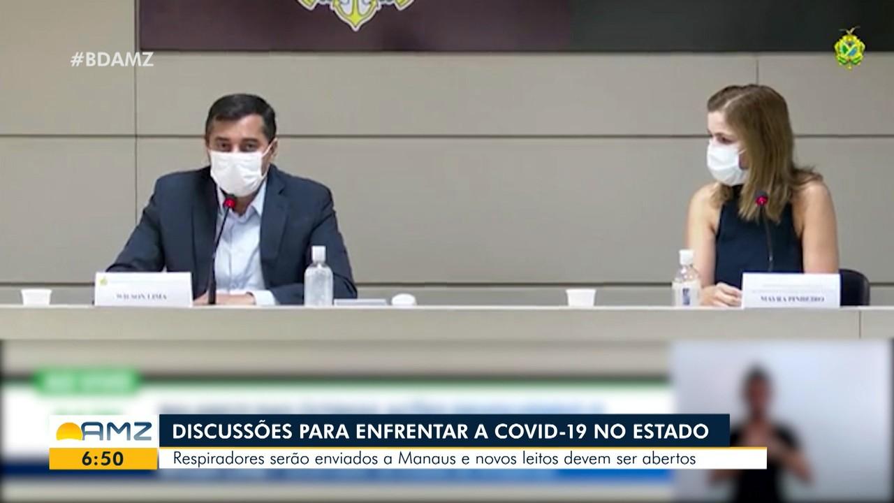 No Amazonas, autoridades discutem estratégias de combate a Covid-19