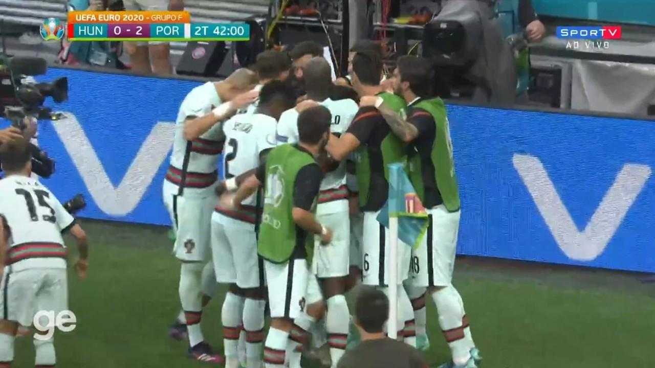 Melhores momentos: Hungria 0 x 3 Portugal pela 1ª rodada da Eurocopa