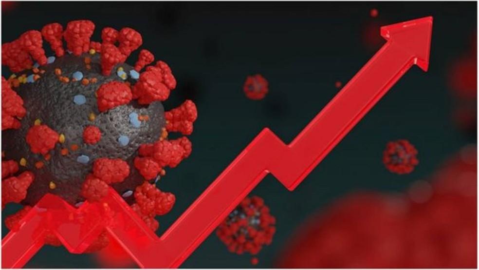 Número de casos confirmados de covid-19 está em trajetória ascendente - e 'deve continuar assim', diz Domingos Alves, coordenador do Laboratório de Inteligência em Saúde (LIS) — Foto: Getty Images/ BBC