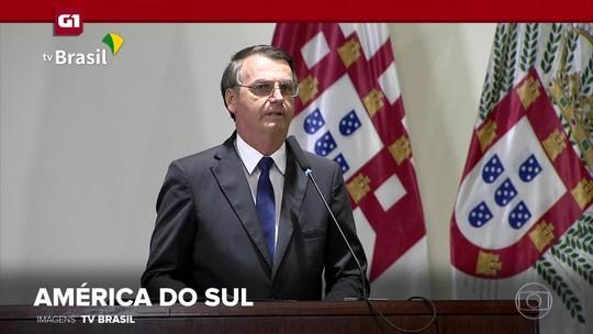 G1 em 1 Minuto: Não queremos 'outra Venezuela', diz Bolsonaro sobre Argentina