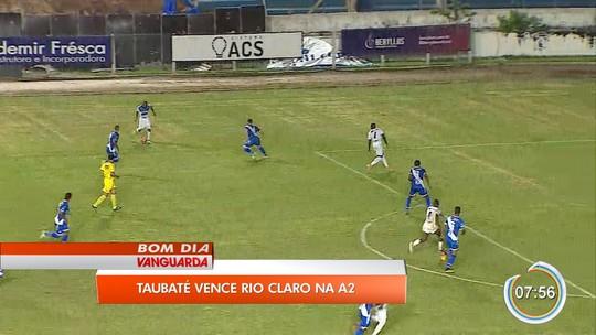 Análise: Taubaté começa mal, mas trocas de Martelotte garantem três pontos contra Rio Claro