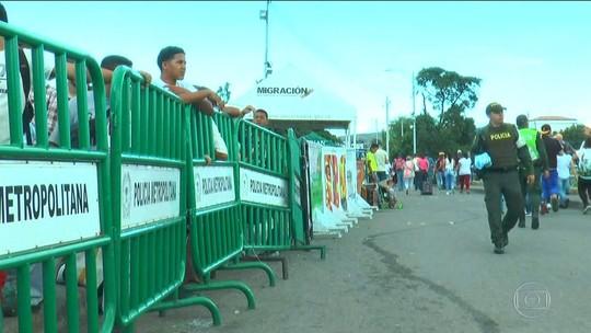 Maduro reabre parte da fronteira da Venezuela com a Colômbia