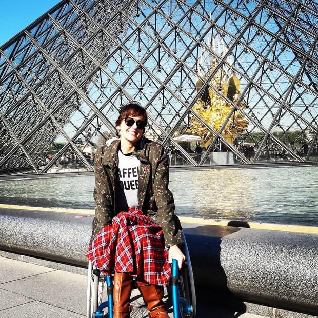 """Resultado de imagem para """"Não gosto que me vejam como superação. Sofri um acidente, sou cadeirante e vivo minha vida"""""""