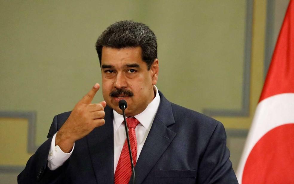 O presidente da Venezuela, Nicolas Maduro — Foto: Manaure Quintero / Reuters