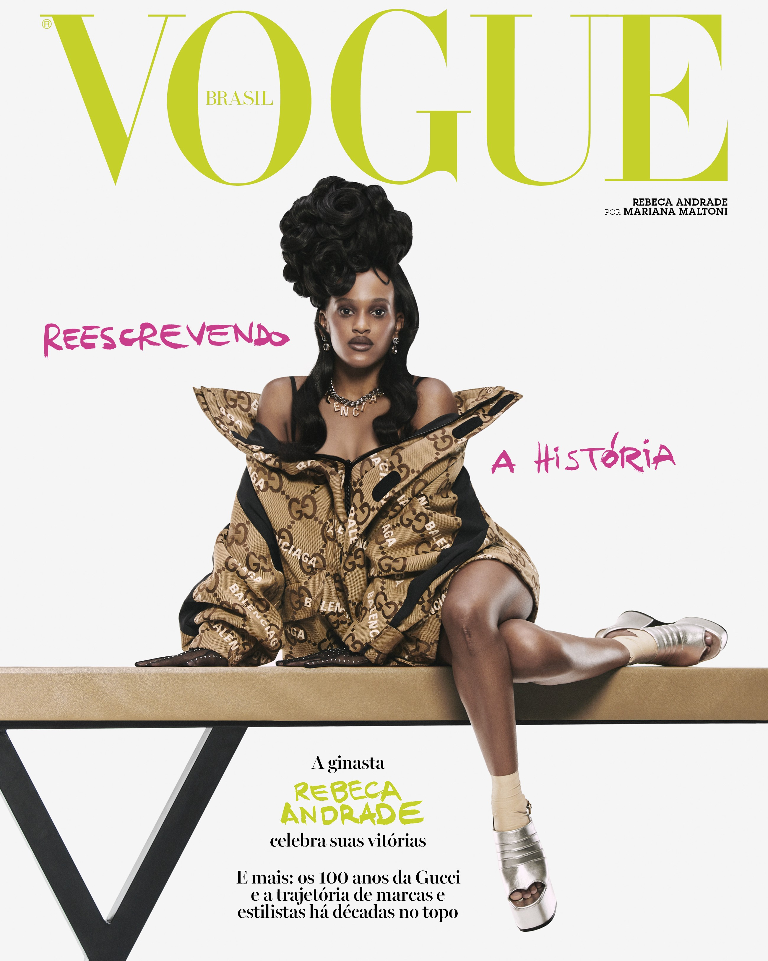Vogue Brasil Outubro 2021 (Foto: Vogue Brasil )