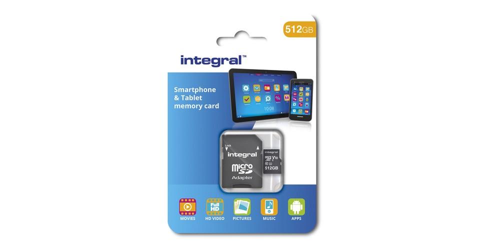MicroSD da Integral Memory tem velocidade de transferências de 10 MB/s (Foto: Divulgação/Integral Memory)