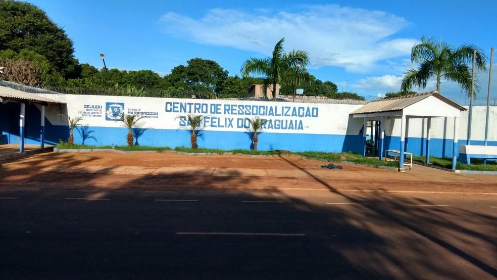 Centro de Ressocialização de São Félix do Araguaia (Foto: Sejudh/MT)