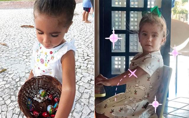 Maria Flor, filha de Deborah Secco (Foto: Reprodução / Instagram)