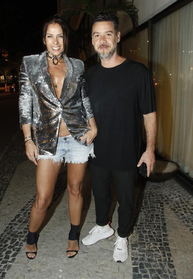 Adriane Galisteu e Alexandre Iódice (Foto: Marco Ferreira/Brazil News)
