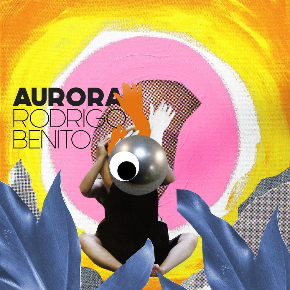 Capa do single 'Aurora', de Rodrigo Vellozo com Benito Di Paula — Foto: Divulgação