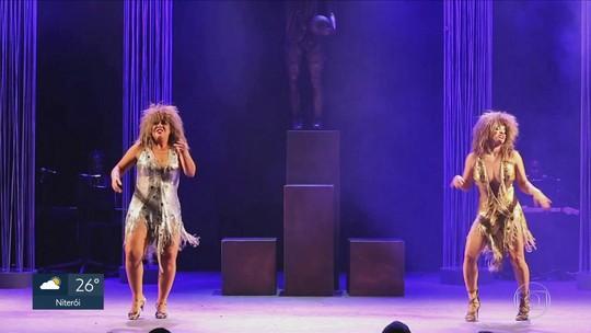 Evelyn Castro e Kacau Gomes fazem um tributo a Tina Turner no Teatro Clara Nunes, na Gávea