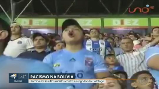 """Alvo de racismo, Serginho diz que situação é """"corriqueira"""" em estádios na Bolívia"""