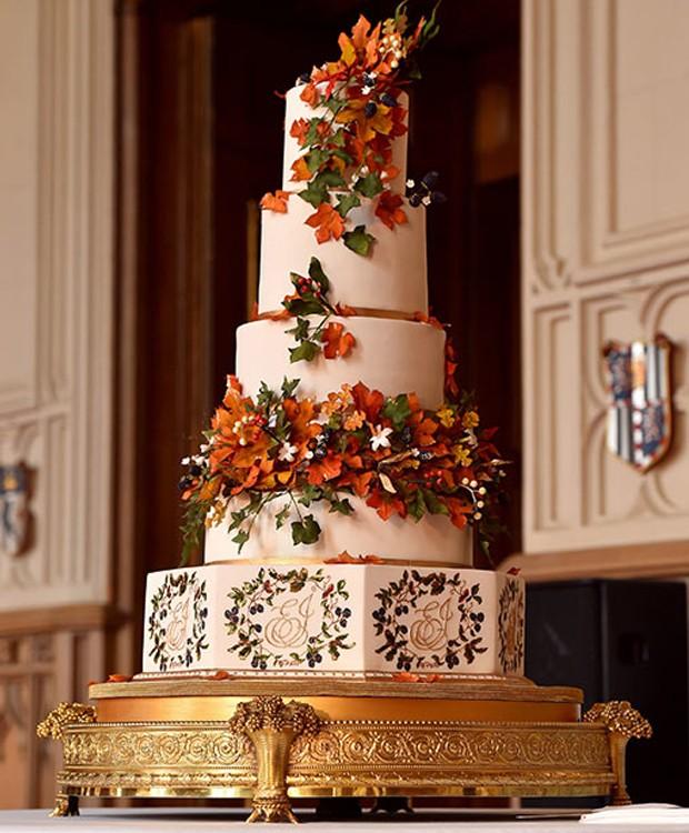 A designer de bolos Sophie Cabot foi escolhida para preparar o bolo do casamento (Foto: Hello Magazine/ Reprodução)