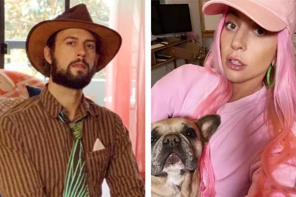 Ryan Fischer e Lady Gaga (Foto: Reprodução / Instagram)