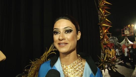 'Sou magra de ruim', diz Thaila Ayala que comeu macarrão antes de desfilar