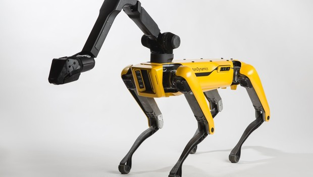 robô SpotMini (Foto: Boston Dynamics)