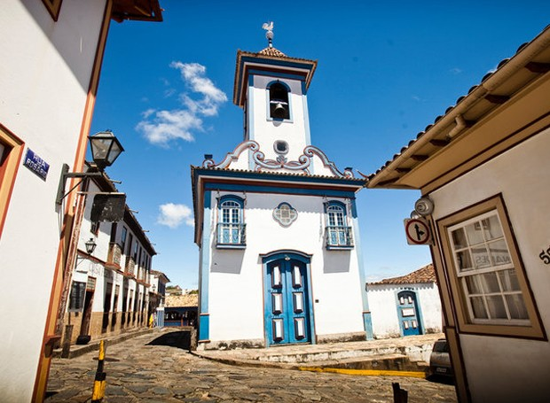 A cidade de Diamantina é uma herança do século 17 (Foto: Roberto Rosa/ Reprodução)