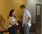 Adriana Birolli e Rodrigo Hilbert em cena de 'Fina estampa' | Reprodução