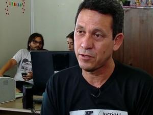 Presidente da Associação das vítimas, Sérgio Silva (Foto: Reprodução/RBS TV)