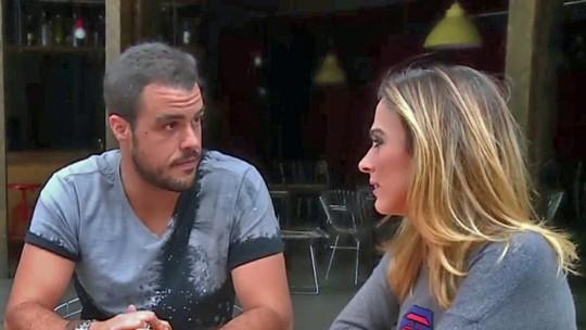 Tatá Werneck e Gabriel Godoy fazem teste de afinidade no 'Vídeo Show'