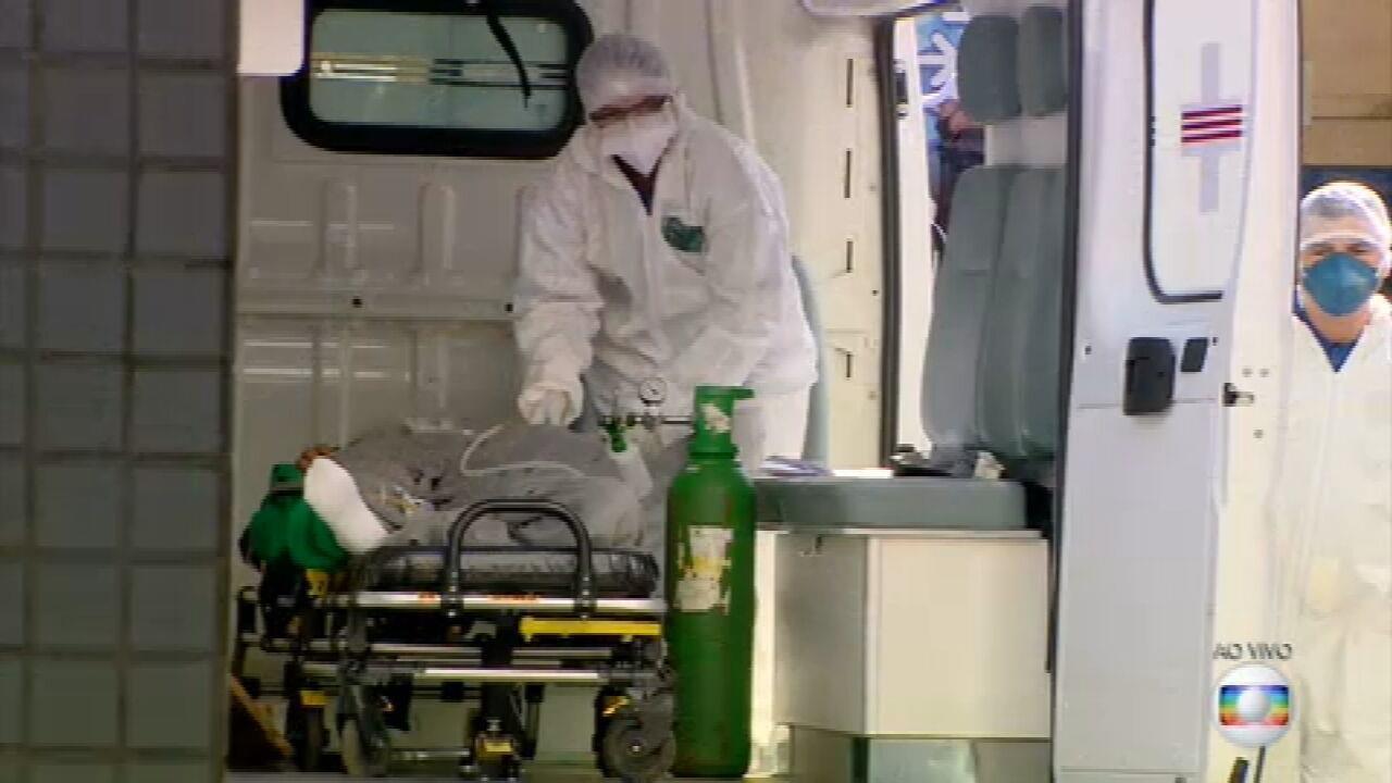 Números mostram que a pandemia segue avançando no país