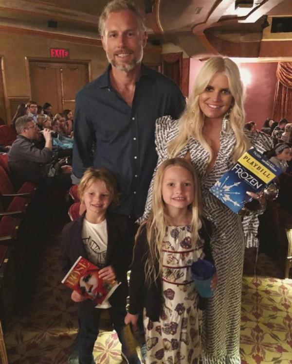 Jessica Simpson em família (Foto: Reprodução Instagram)