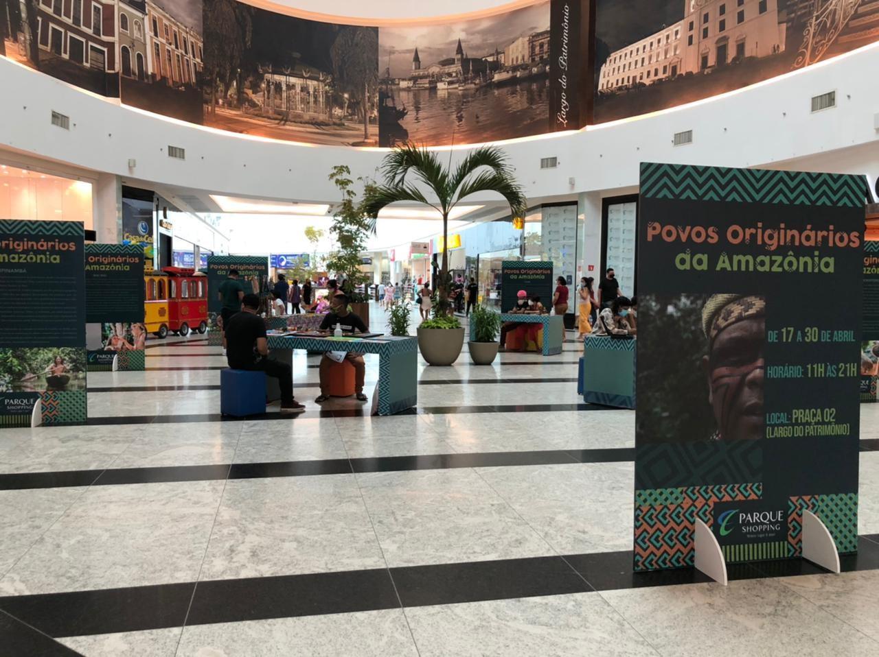 Exposição artística destaca cultura e identidade de etnias indígenas da Amazônia