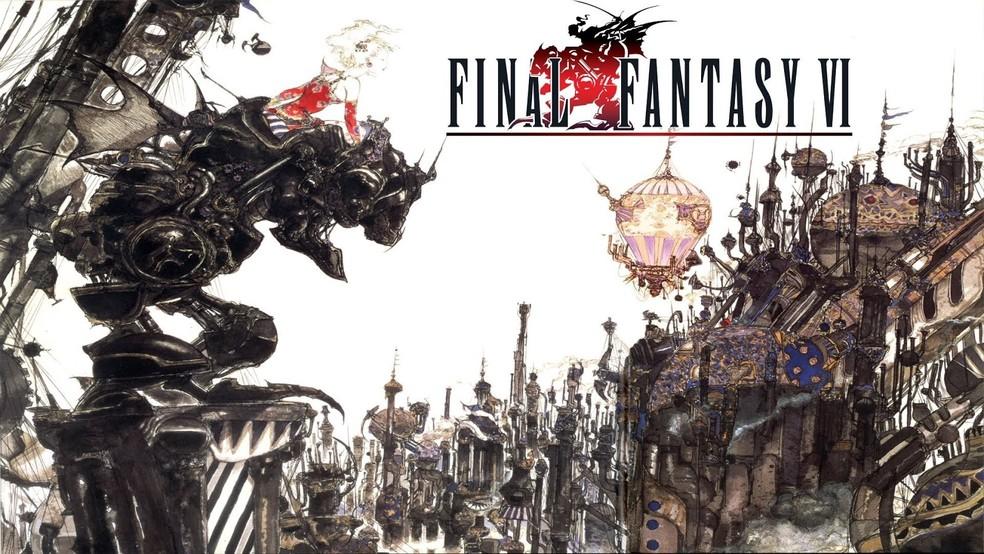 Final Fantasy VI traz uma das aventuras mais belas do Super Nintendo — Foto: Divulgação/Square