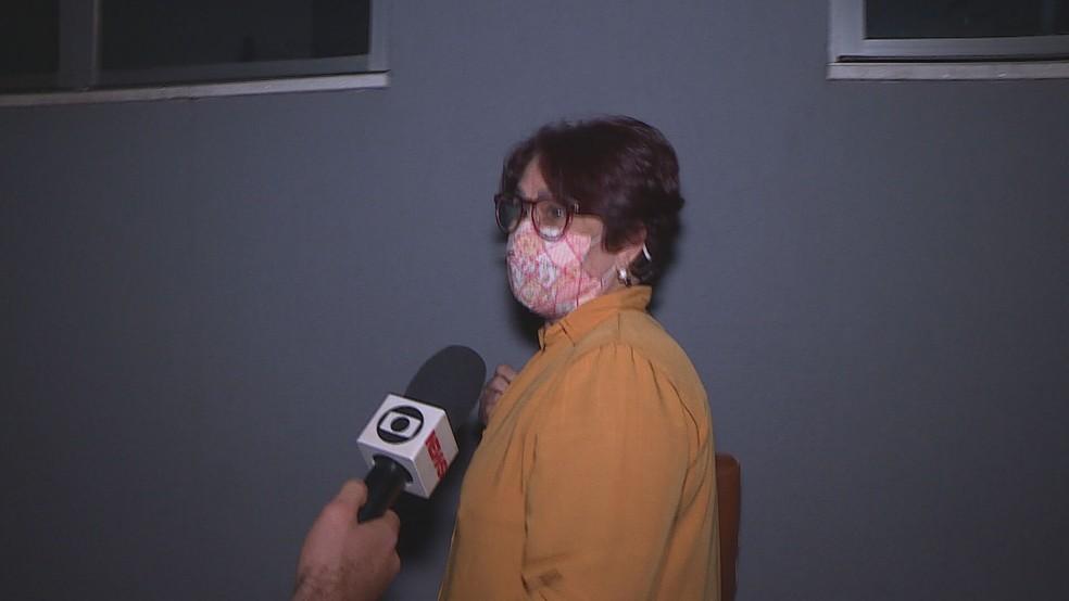 Sobre vacinação clandestina, Claudia Pinheiro disse que só se 'arrepende da imprensa' — Foto: Reprodução/TV Globo