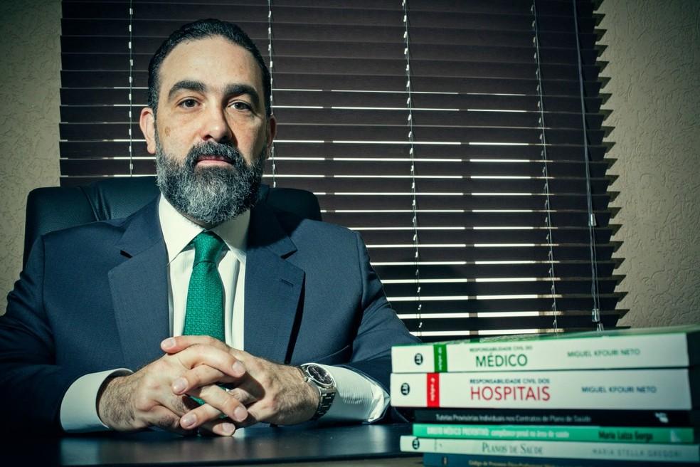 Advogado Leonardo Navarro apoiou a família de Ítalo durante o processo — Foto: Leo Pinheiro/Divulgação
