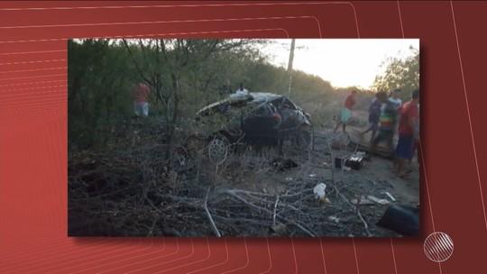 Criança morre em acidente e pai é preso por dirigir embriagado na BA